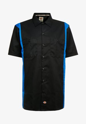 TWO TONE WORK - Chemise - black/royal
