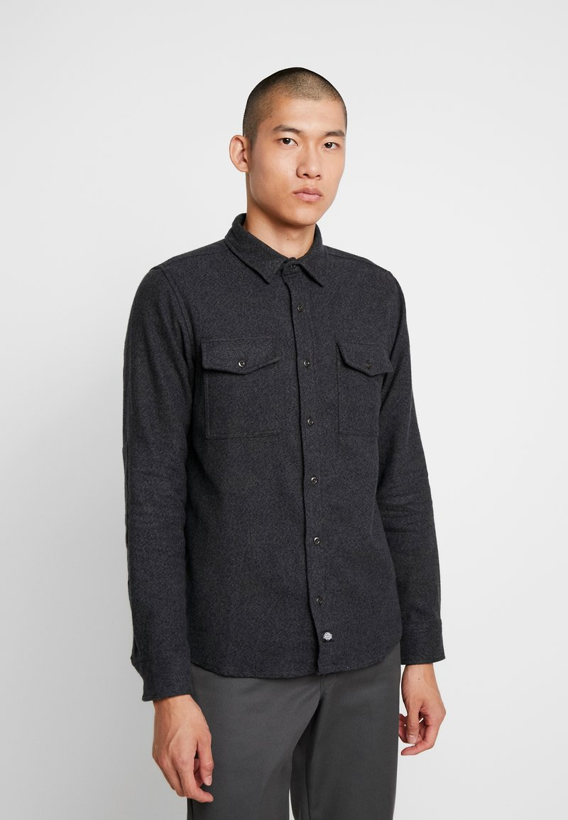Dickies - DELPHIA - Camisa - dark grey melange
