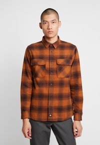 Dickies - WANETA SHIRT - Košile - brown duck - 0