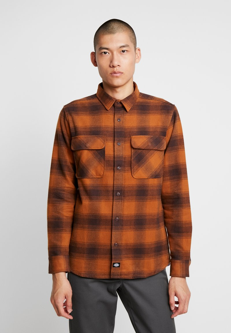 Dickies - WANETA SHIRT - Košile - brown duck