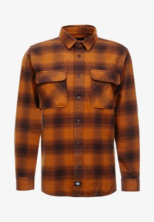 WANETA SHIRT - Camicia - brown duck