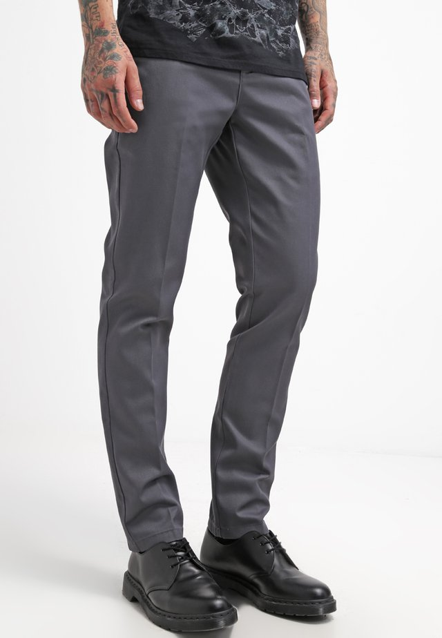 WORK PANT - Chino - charcoal grey