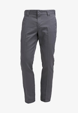 872 SLIM FIT WORK PANT - Chinosy - charcoal grey