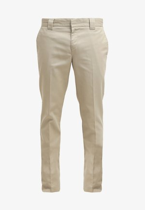 872 SLIM FIT WORK PANT - Chino - khaki