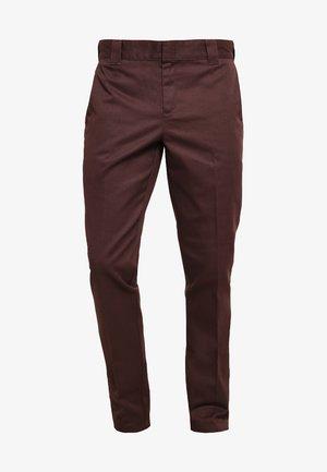 WORK PANT - Chinosy - chocolate brown