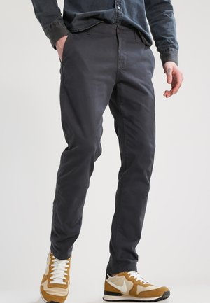 KERMAN  - Chino - charcoal grey