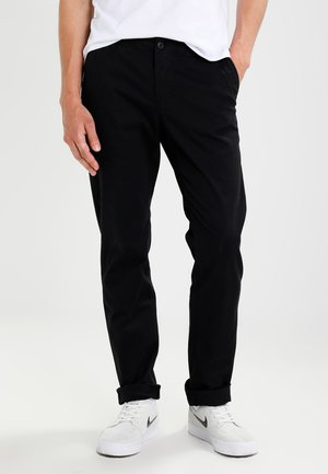 KERMAN  - Pantalones chinos - black