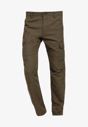 EDWARDSPORT - Pantalon cargo - dark olive