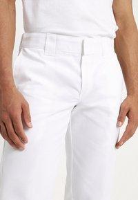 Dickies - 873 STRAIGHT WORK PANT - Broek - white - 3