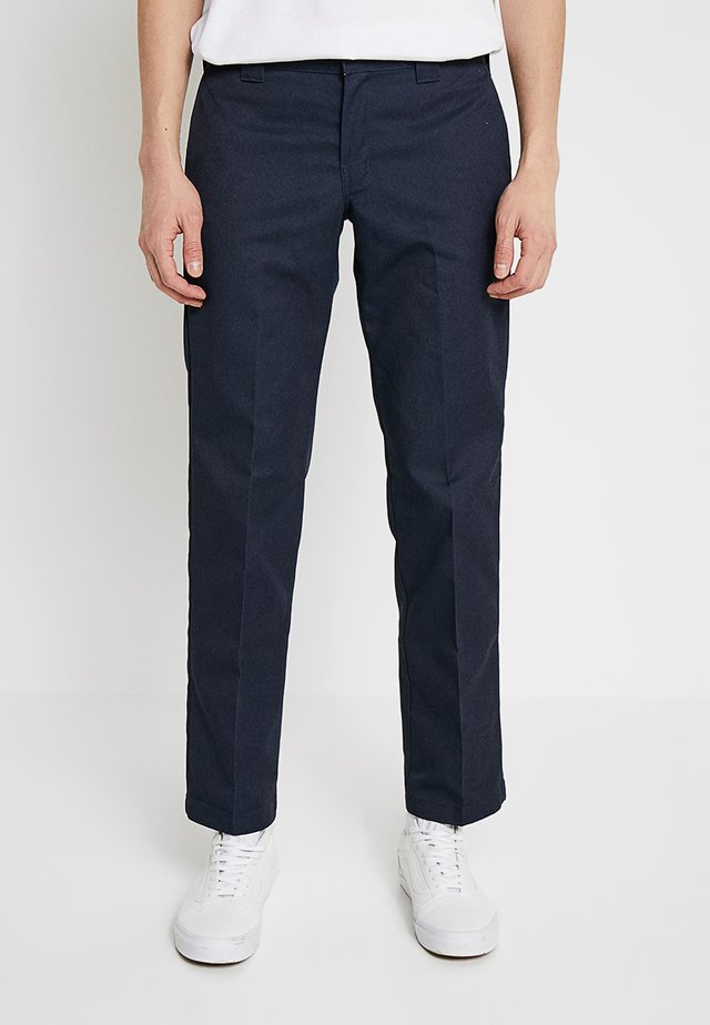 WORK PANT - Trousers - dark navy