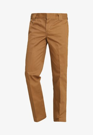 873 STRAIGHT WORK PANT - Broek - brown duck