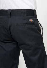 Dickies - 873 STRAIGHT WORK PANT - Pantalon classique - rinsed black - 5