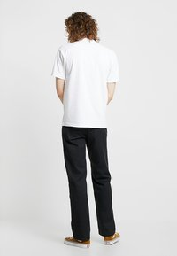 Dickies - 873 STRAIGHT WORK PANT - Pantalon classique - rinsed black - 2