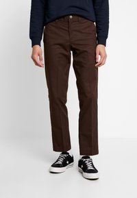 Dickies - INDUSTRIAL - Pantalon classique - chocolate brown - 0