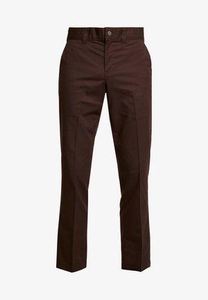 INDUSTRIAL - Tygbyxor - chocolate brown