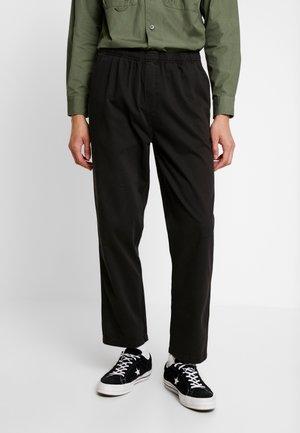 SMITHTOWN - Pantalones - black