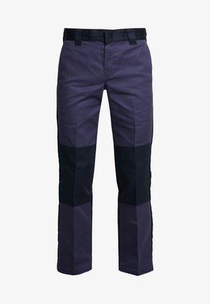 EZEL - Spodnie materiałowe - navy blue
