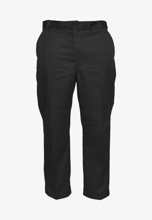 DOUBLE KNEE WORK PANT - Chino - black