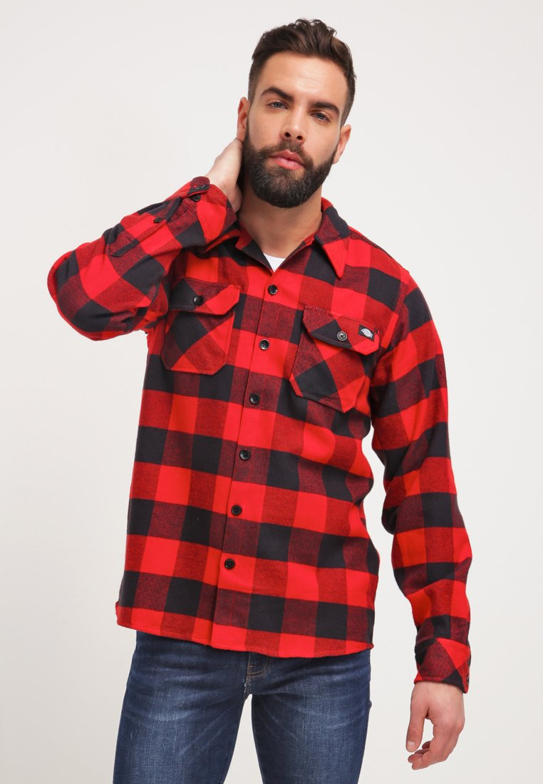 Dickies - SACRAMENTO - Overhemd - red