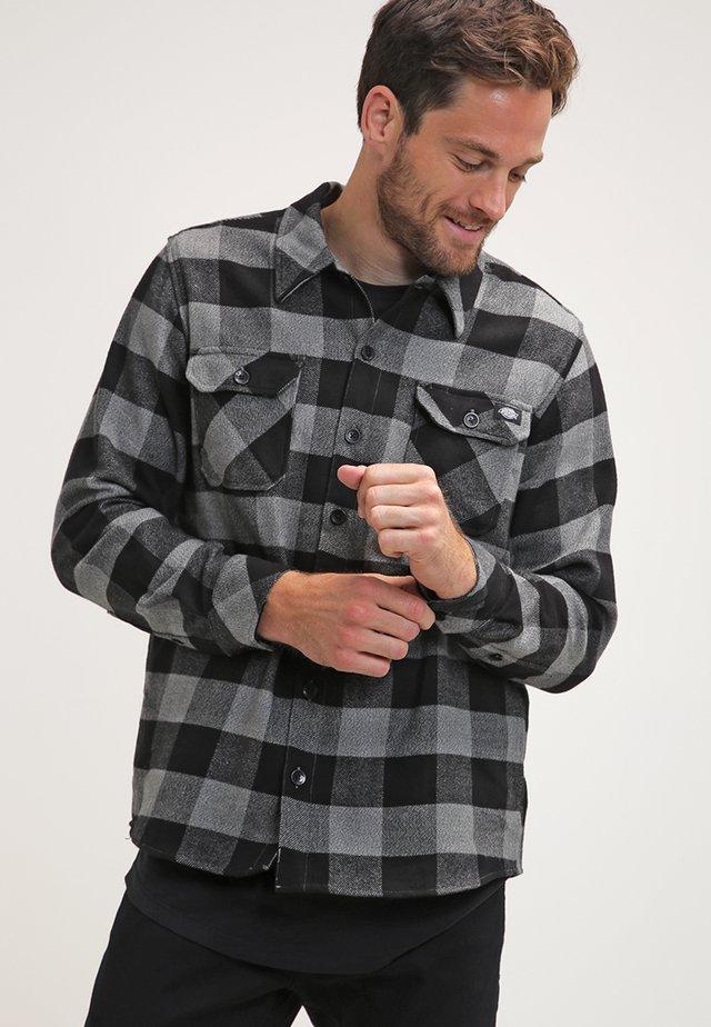 SACRAMENTO - Skjorte - grey melange