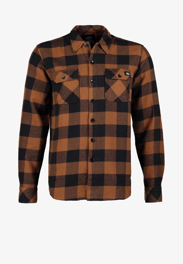 SACRAMENTO - Overhemd - brown duck