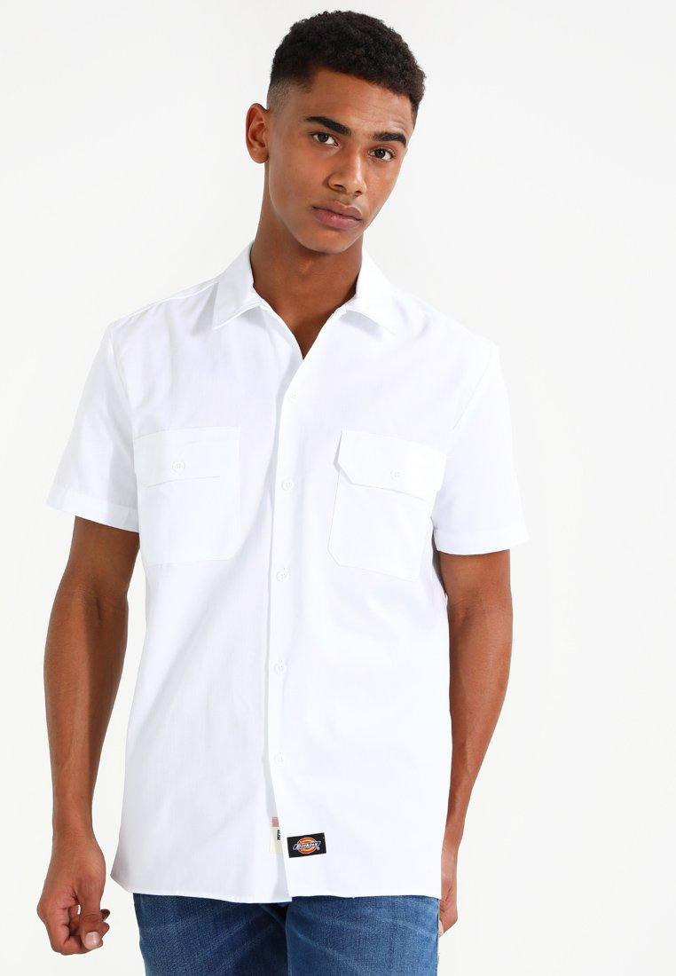 Dickies - SHORT SLEEVE WORK - Shirt - white