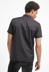 Dickies - SHORT SLEEVE WORK - Overhemd - black - 2