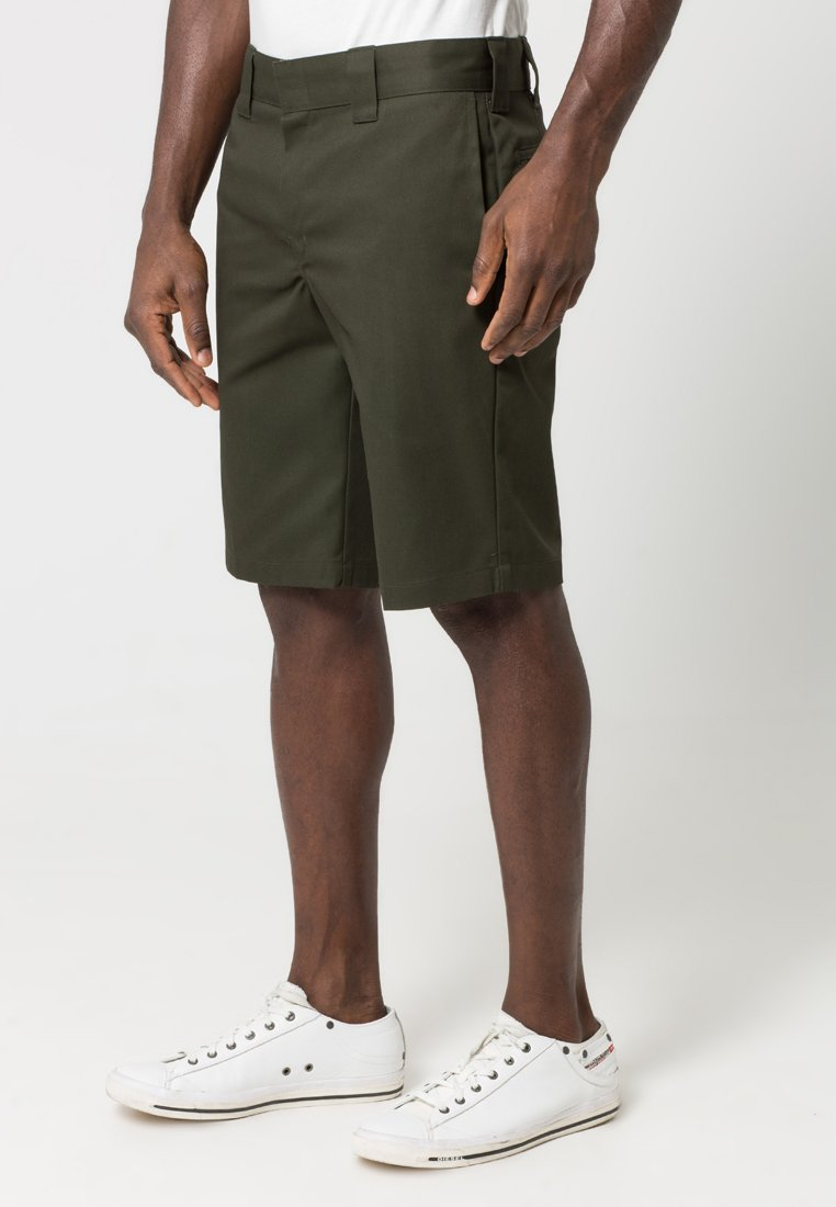 Dickies Slim Straight Work - Shorts Olive Green