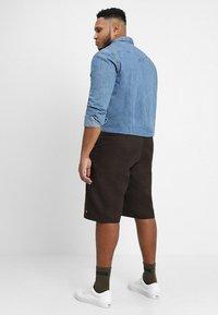 Dickies - MULTI POCKET WORK - Shorts - dark brown - 2