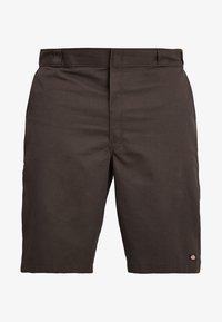 Dickies - MULTI POCKET WORK - Shorts - dark brown - 4