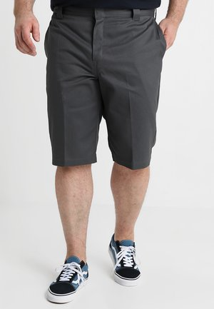 SLIM FIT WORK - Shorts - charcoal