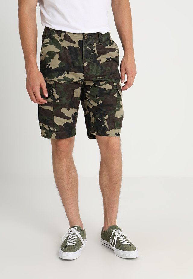 NEW YORK - Shorts - olive/beige/dark green