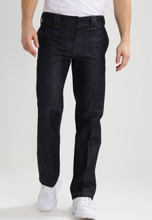 WORK PANT - Džíny Straight Fit - rinsed