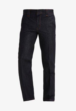 WORK PANT - Jeans straight leg - rinsed