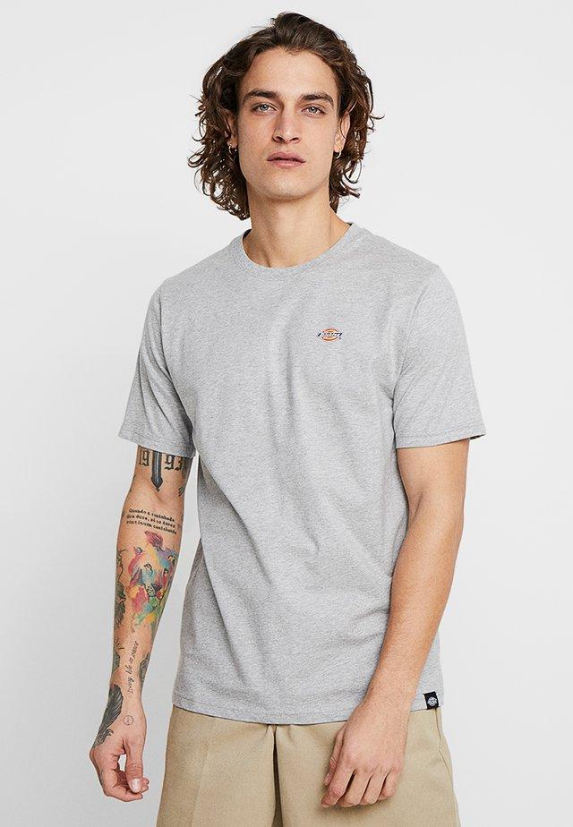STOCKDALE - T-shirts med print - grey melange