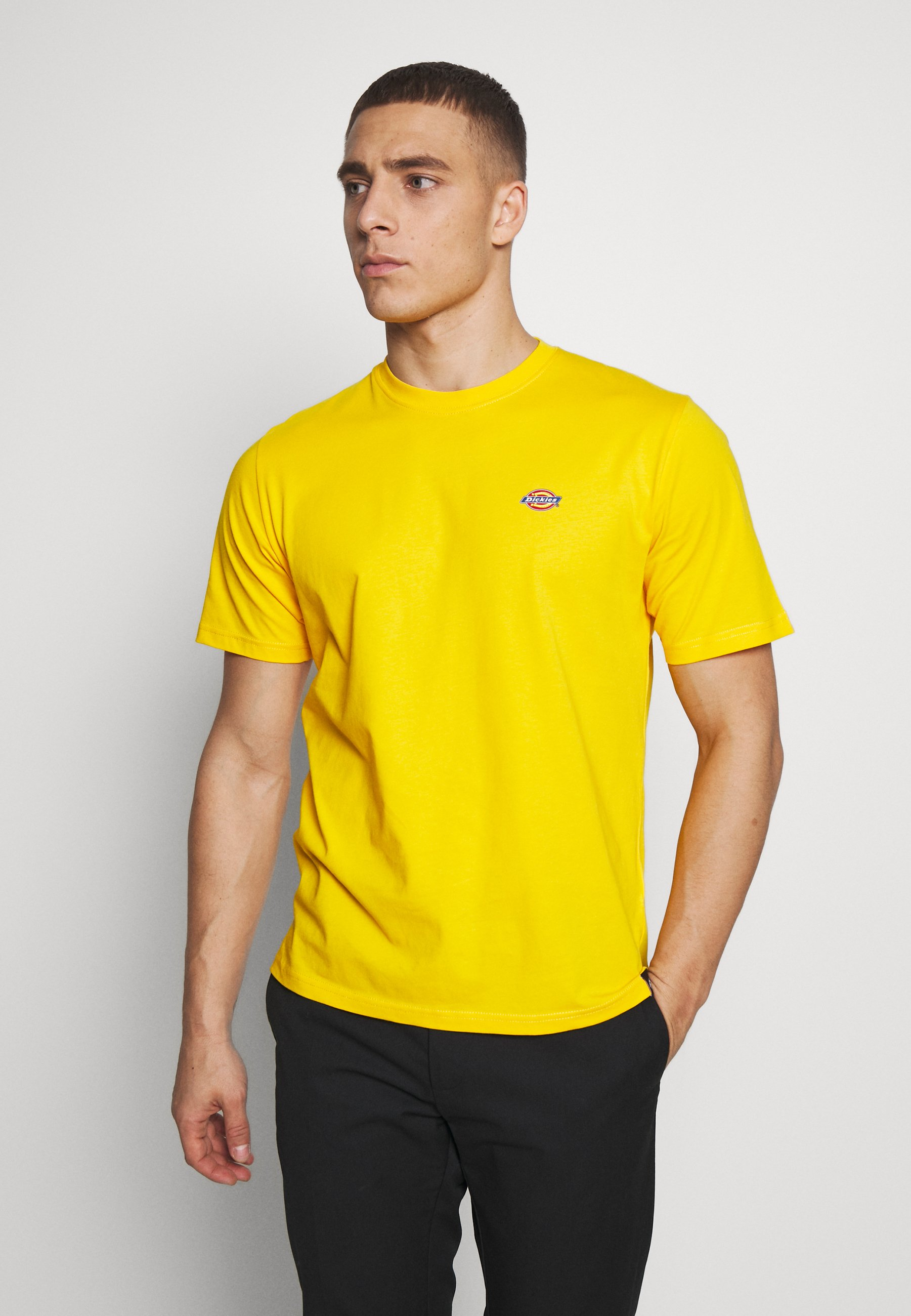 Dickies STOCKDALE - T-shirt z nadrukiem - spectra yellow