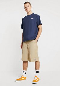 Dickies - STOCKDALE - T-shirt print - navy - 1