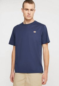 Dickies - STOCKDALE - T-shirt print - navy - 0