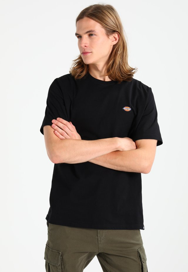 STOCKDALE - T-shirt con stampa - black