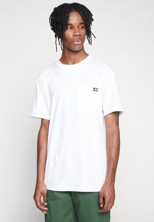 PORTERDALE POCKET - T-shirts basic - white