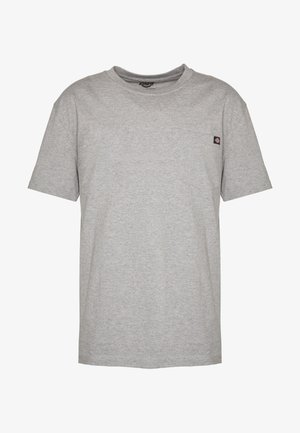 PORTERDALE POCKET - Basic T-shirt - grey melange