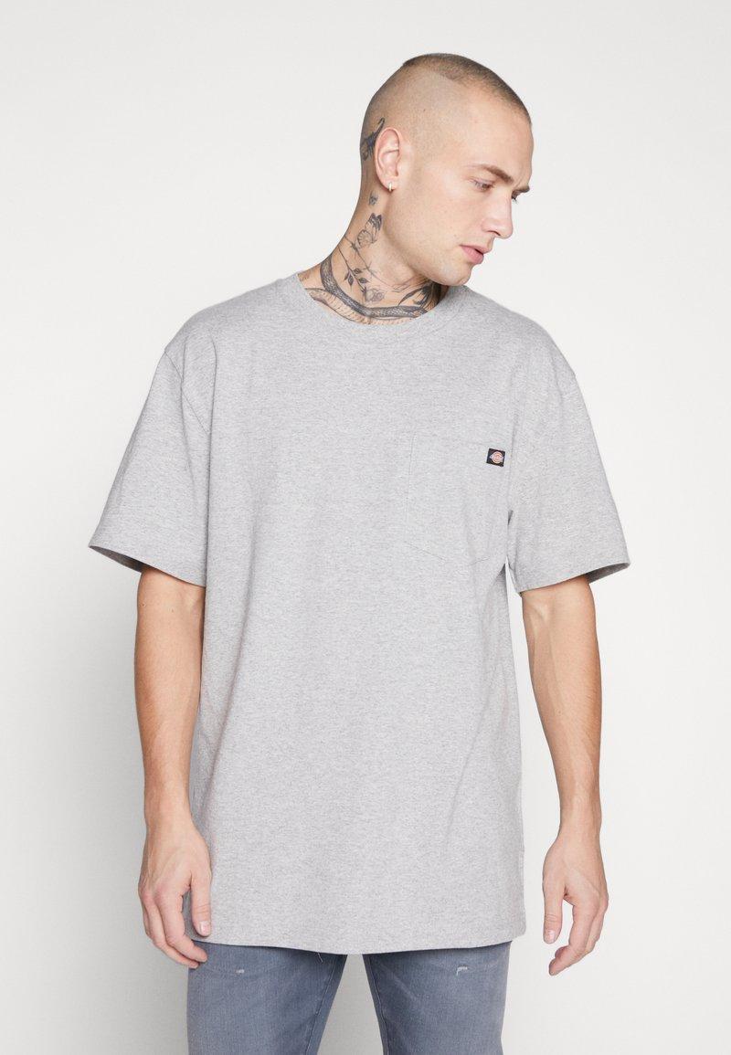 Dickies - PORTERDALE POCKET - T-shirt basic - grey melange