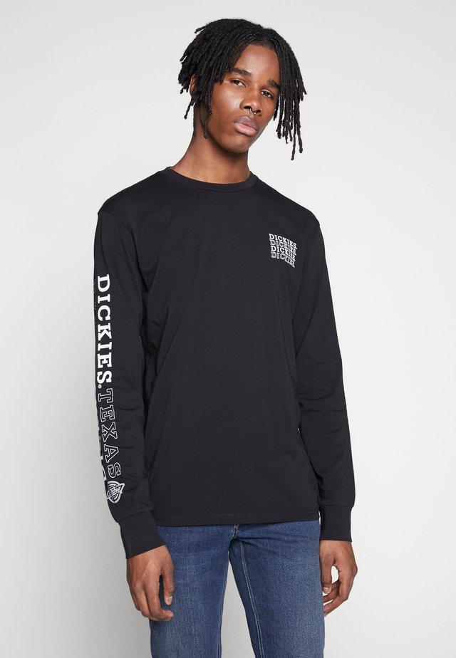 MILLWOOD - Long sleeved top - black