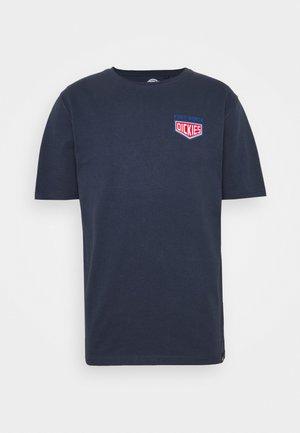 TIMBERLANE - Print T-shirt - navy blue