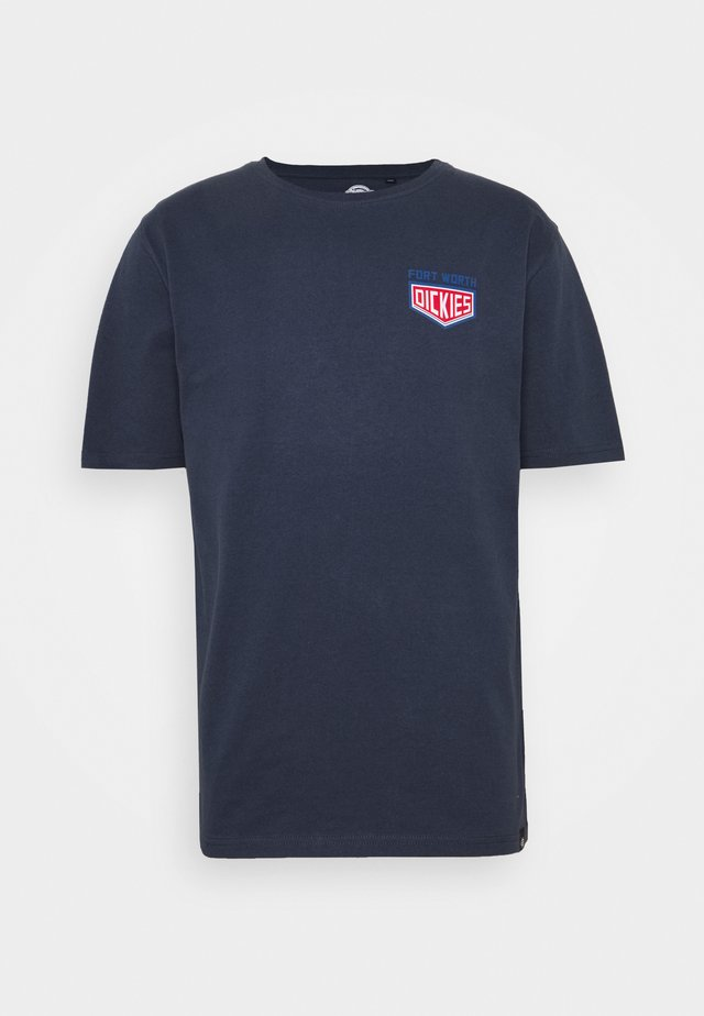 TIMBERLANE - T-shirt print - navy blue