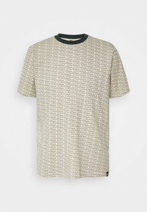 MAXEYS - Print T-shirt - light taupe