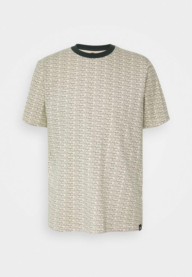 MAXEYS - Print T-shirt - light taupe