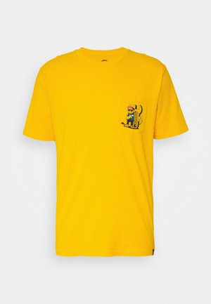 TARRYTOWN - T-shirt z nadrukiem - spectra yellow