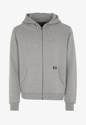 KINGSLEY - Zip-up hoodie - grey melange