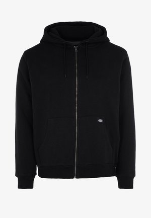 KINGSLEY - veste en sweat zippée - black